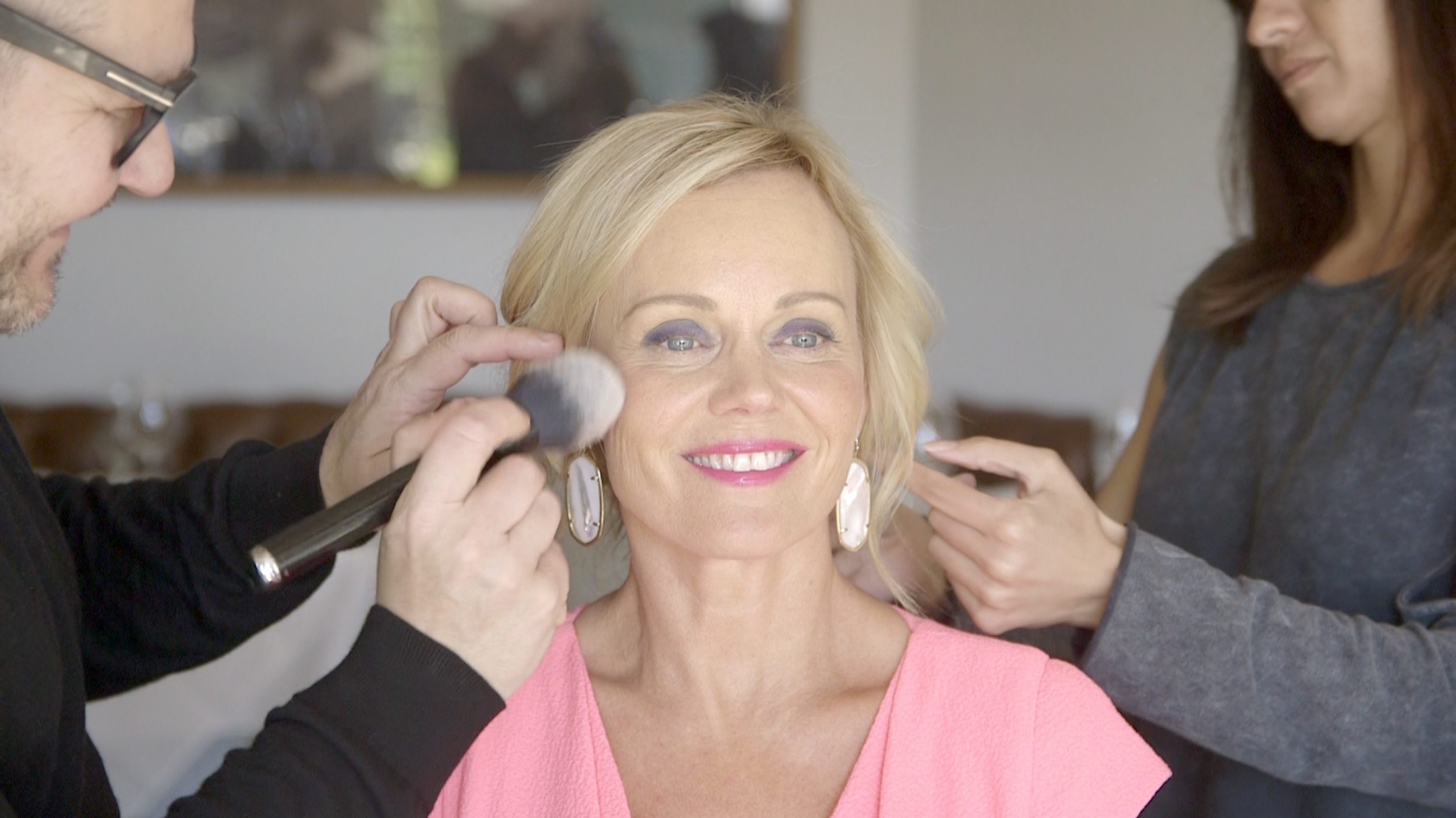 Make up tutorial with Sirpa Selänne and Riku Campo, 2017