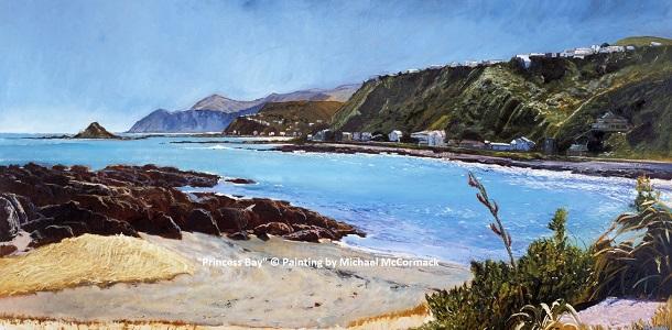 Facebook Princess Bay C Painting by Michael McCormack 300hi.jpg