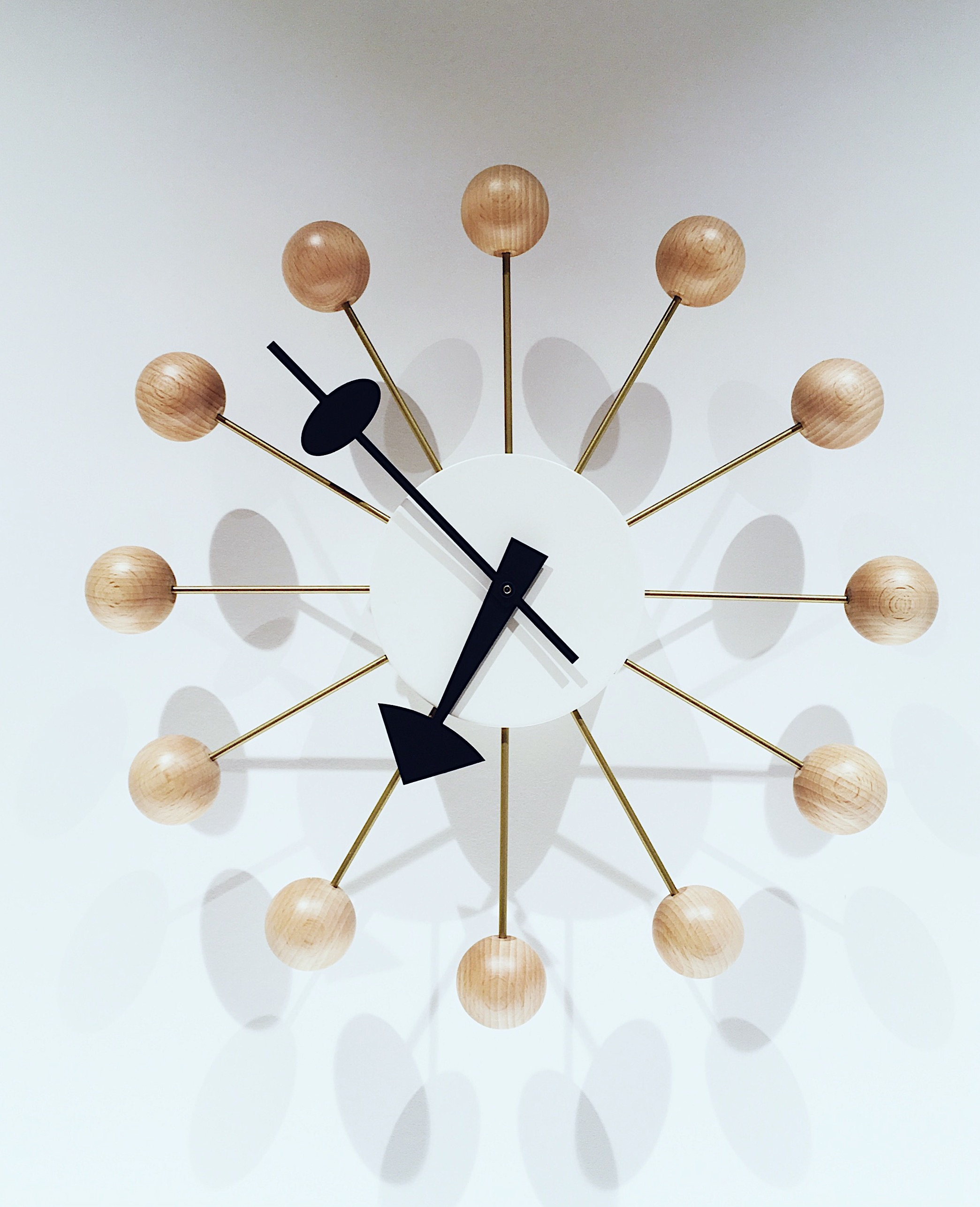 Nelson Ball Clock from DWR