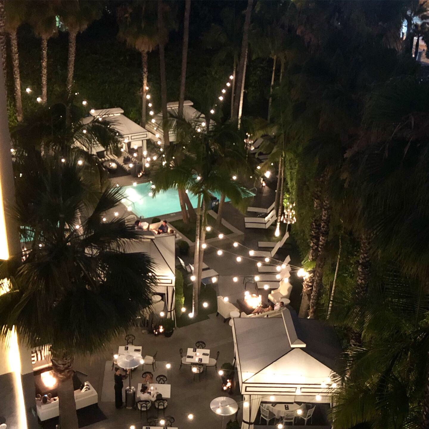 Nightcap at our dreamy hotel, The Viceroy.