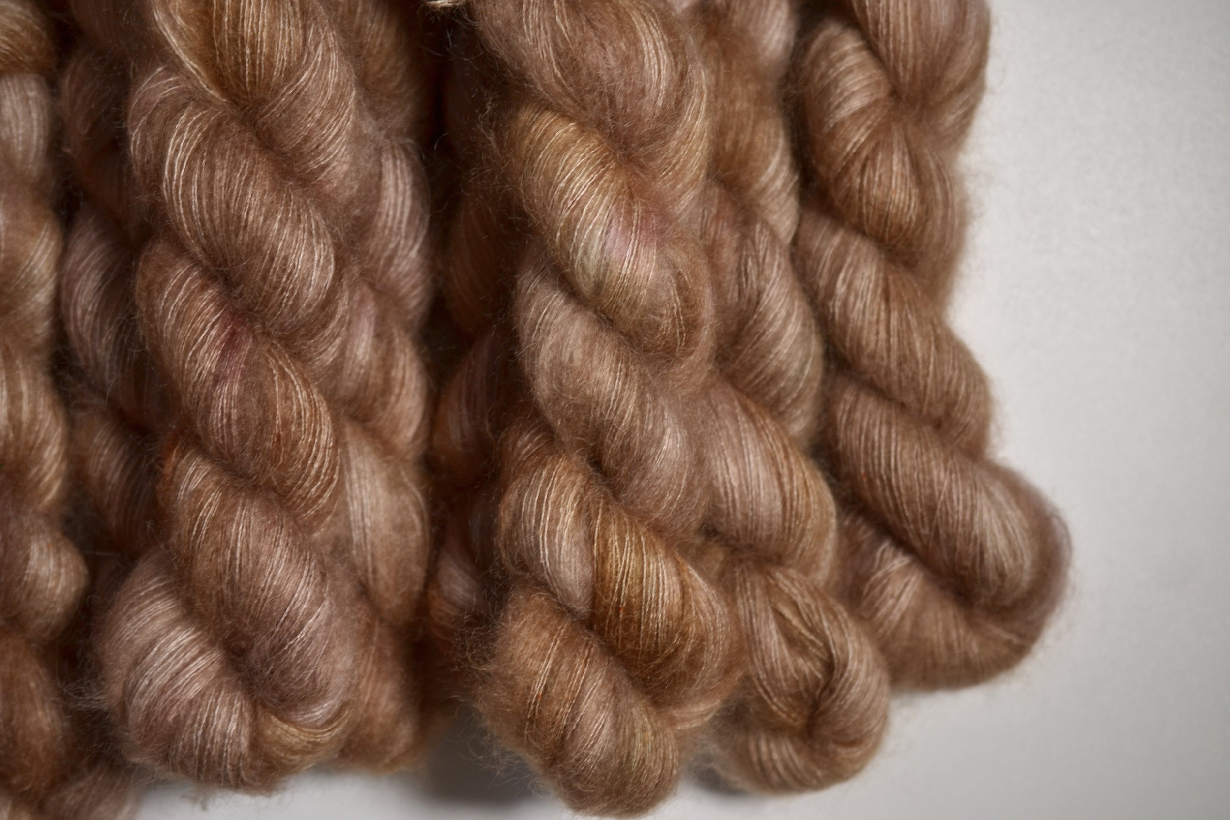 WILD ROSE - mohair lace