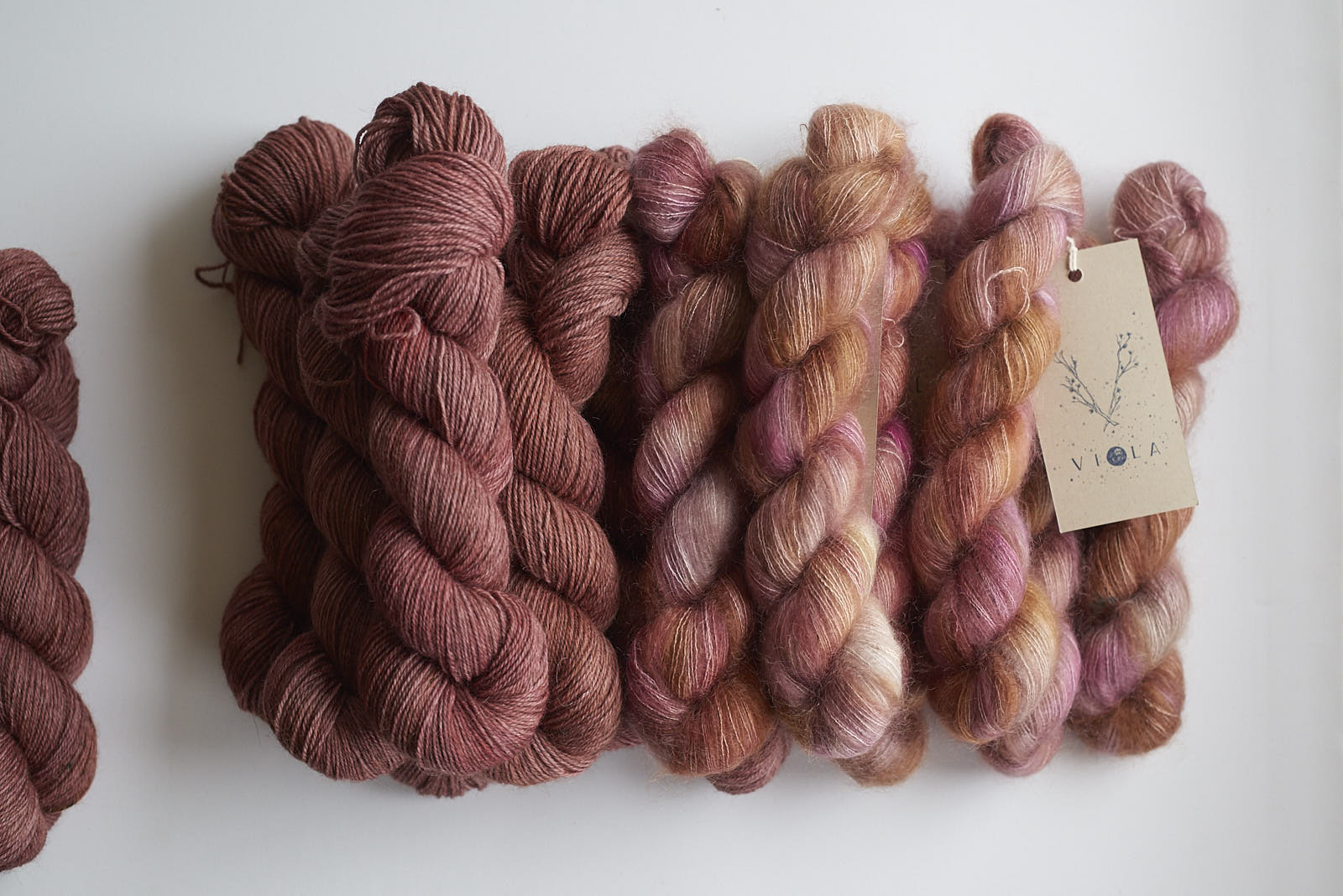 Fireside Shadow DK with Jaipur Mohair Lace