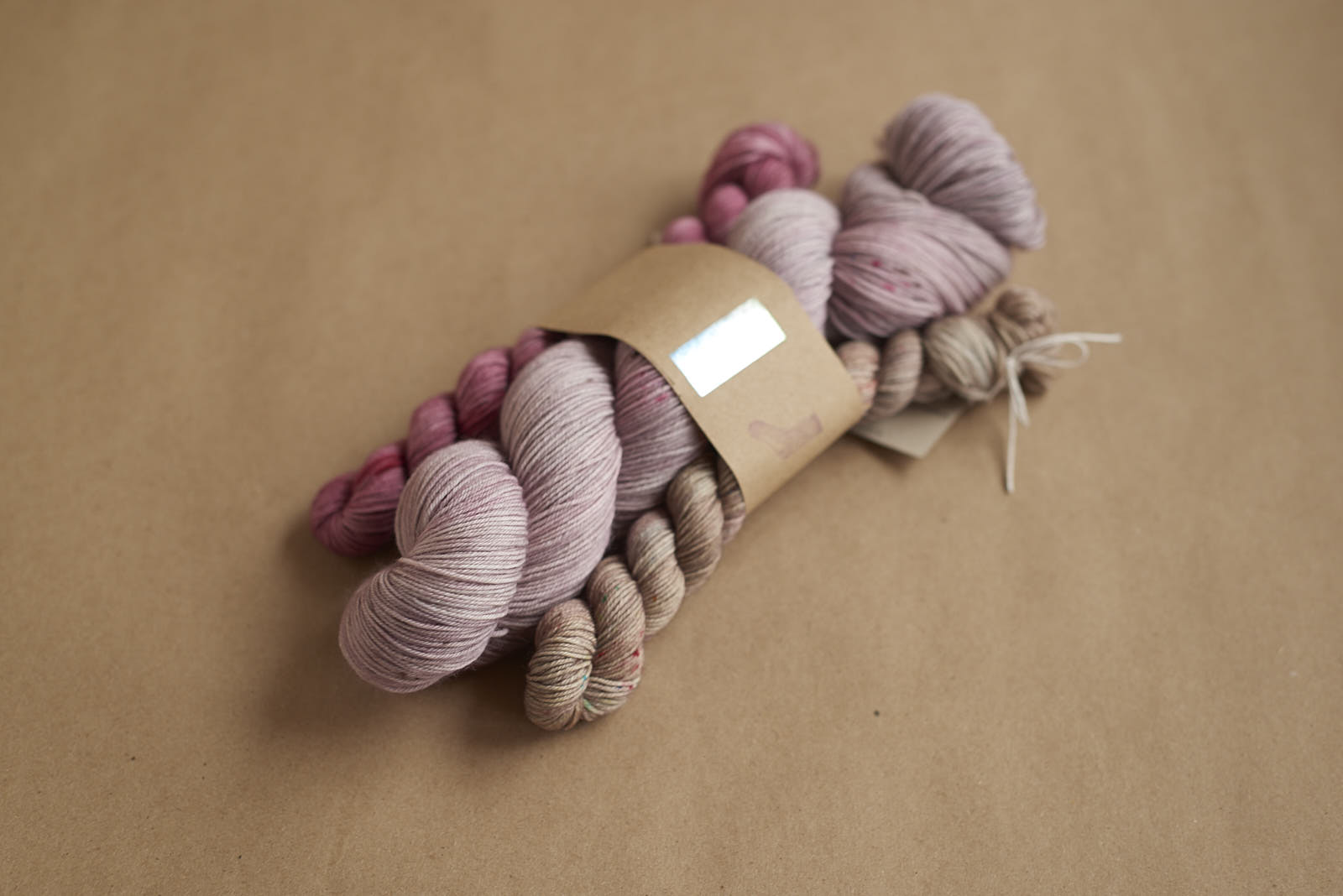 Favourite Sock Kit # 4: Eclipse with Peony and Explosion Sock Minis