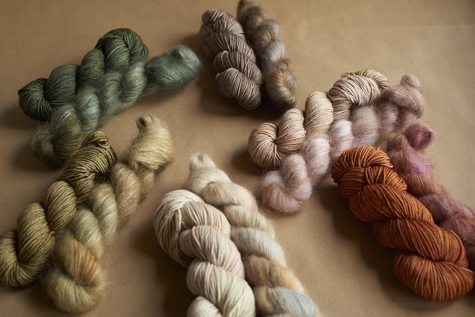 Ghostwood Mitten  Kits - pattern by Kiyomi Burgin
