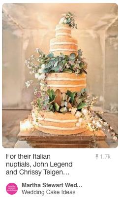Inspiration for Stephanie + John's Wedding Cake. Cake design by AFM Banqueting Milano.