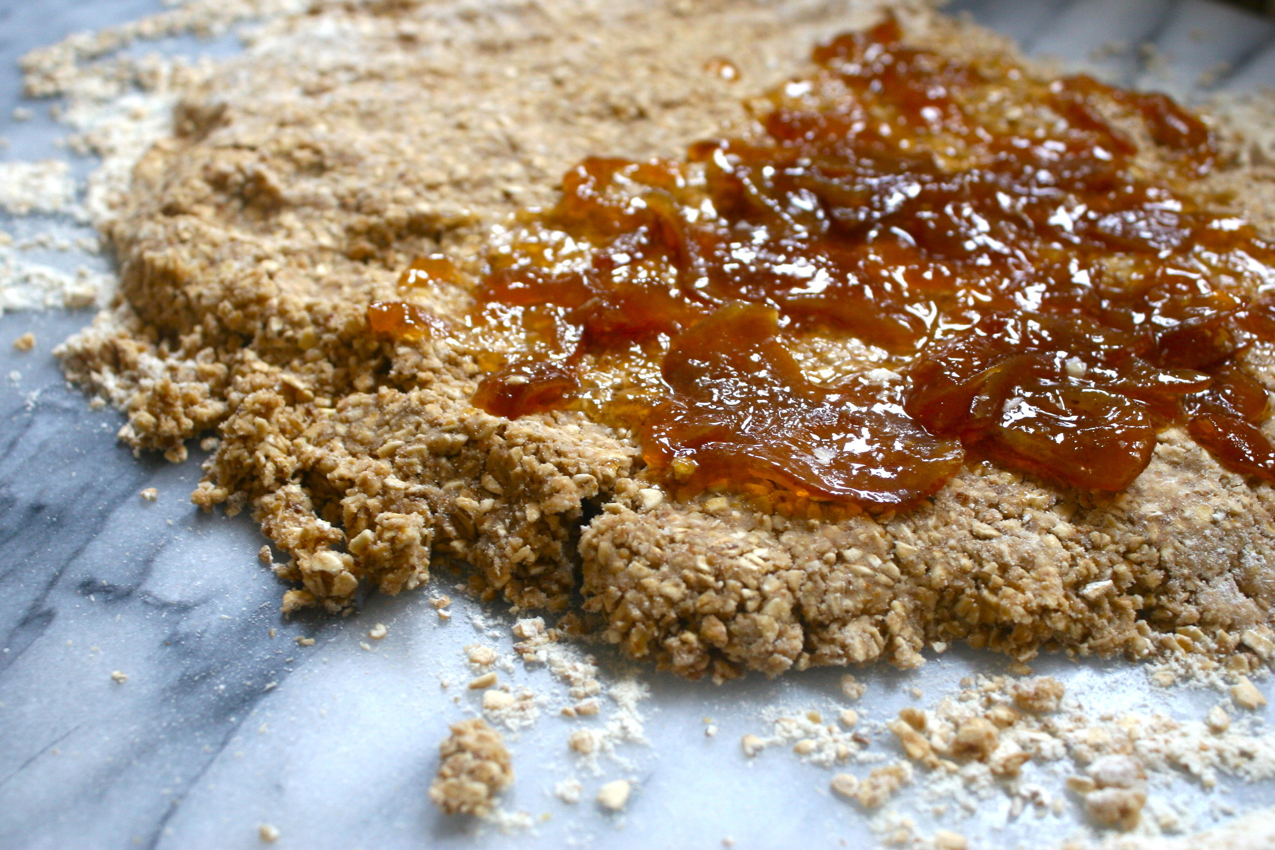 marmalade scones