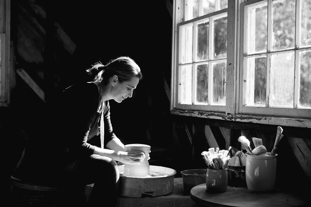 Cake Stand potter Amanda Wright