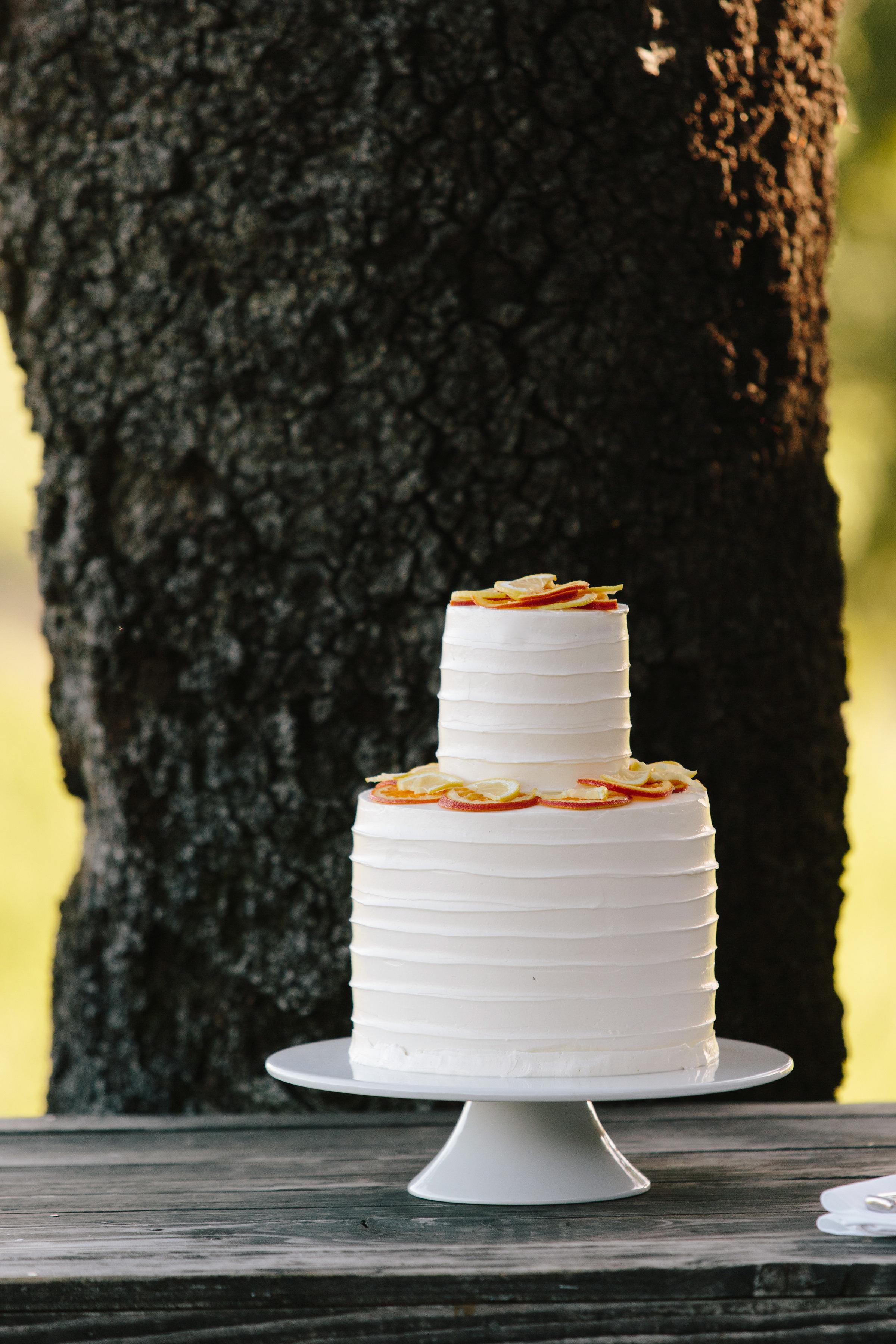 Modern - Minimal Wine Country Wedding at Scriber WInery - Cakebloom - Sonoma, CA -Simone-Anne Photography
