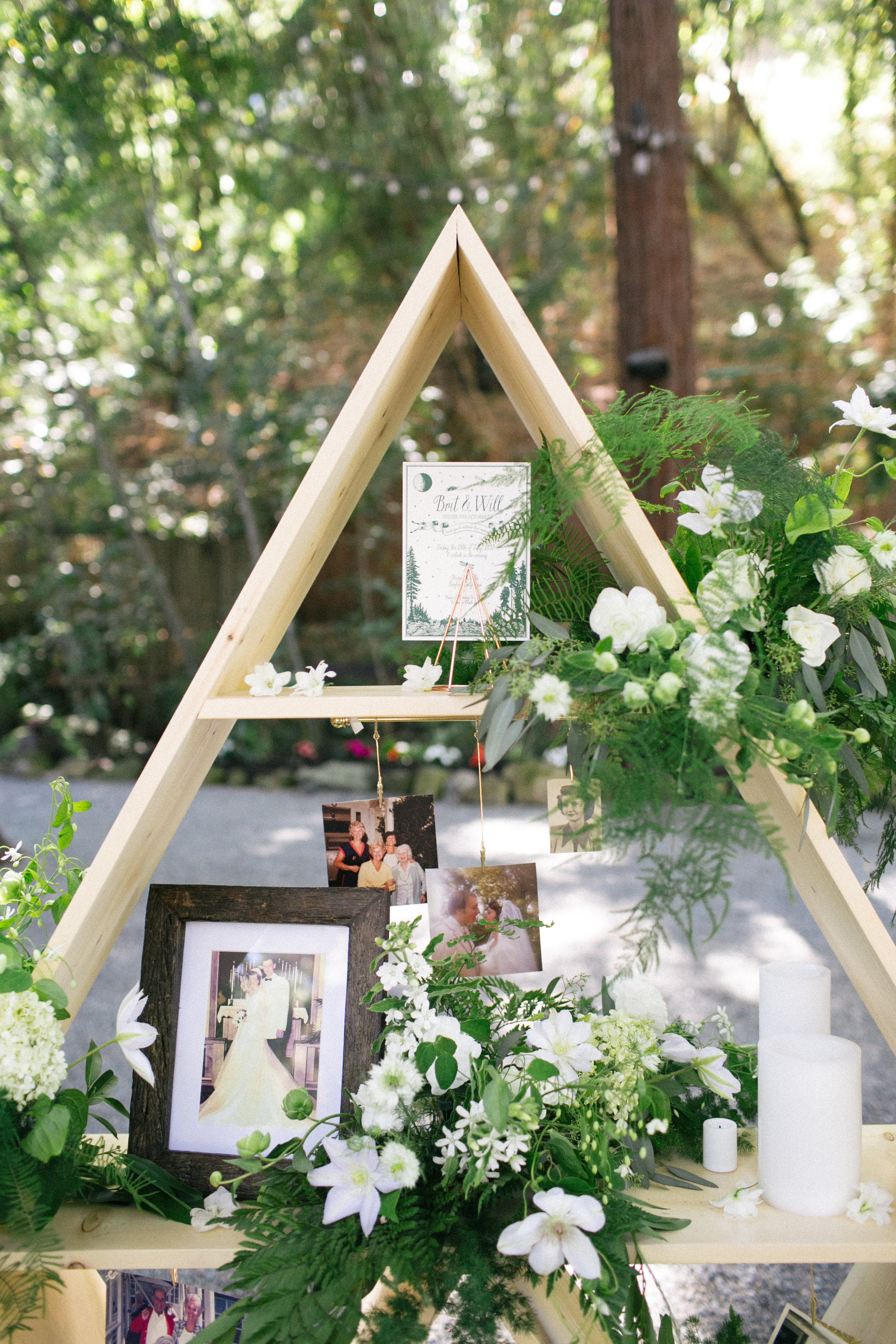 Family Photo Display Ideas for Weddings - Nichols Photographers