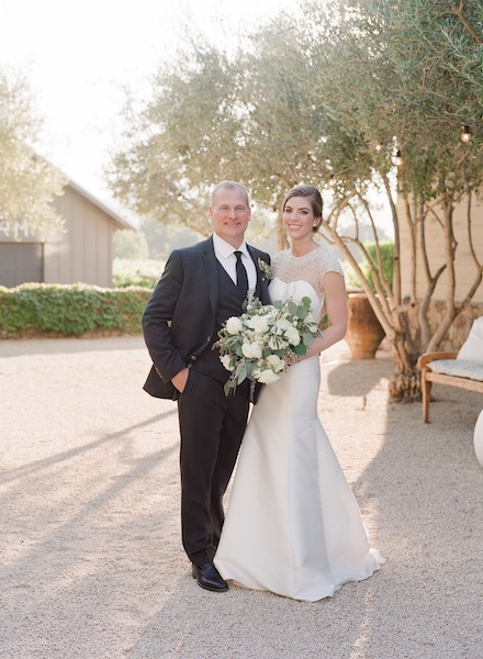 Modern Elegant Wine Country Wedding in Yountville | Meg Smith Photography