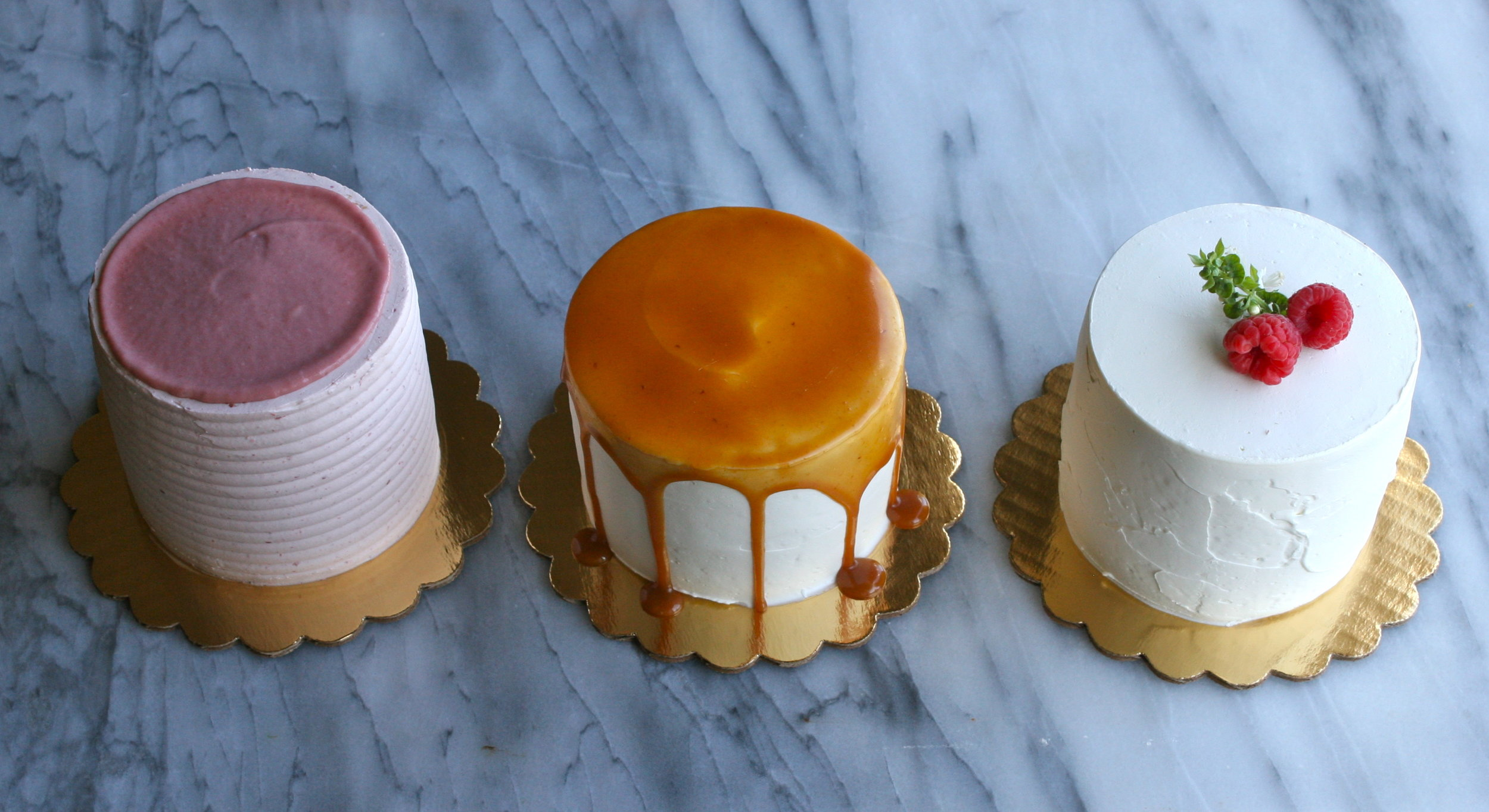 custom tasting trio | Cake Bloom, Sonoam, California