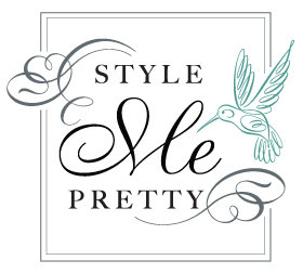Cake Bloom feature on Style Me Pretty