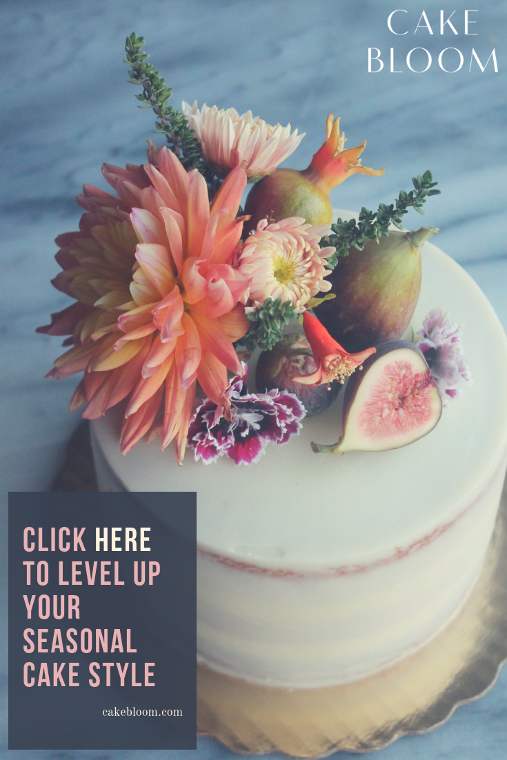 Seasonal Cake Styling by Cake Bloom