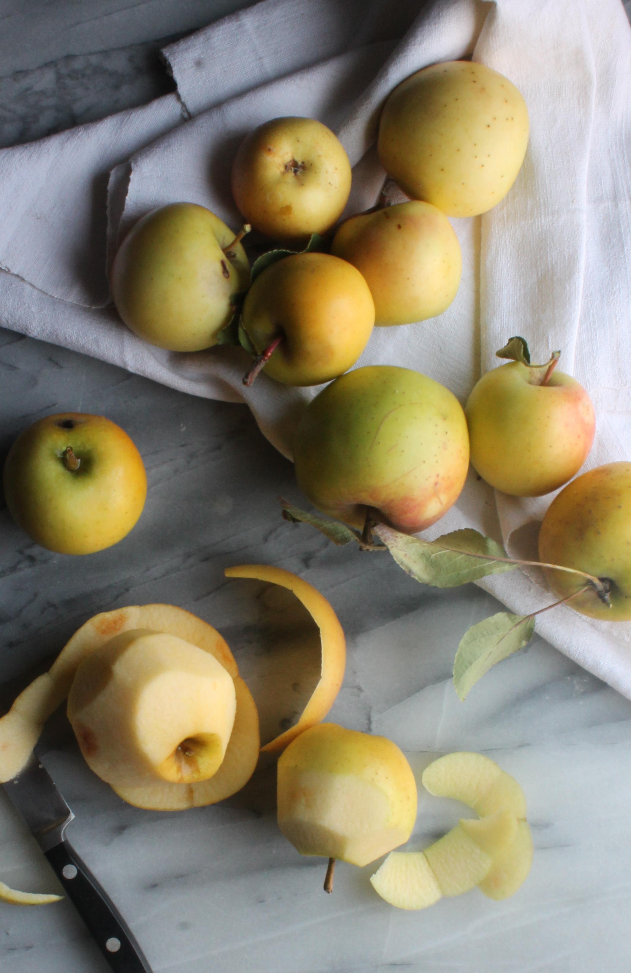 heirloom apples for Apple Pie Cake| recipes via Cake Bloom