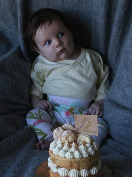Month 2:  Banana Pudding Cake