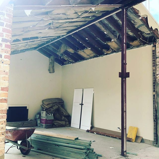 Yesterdays sight visit in our Lindfield project...almost at complete gut out then the magic will begin #design #ilovemyjob #interiors #interiordesign #building #renovation