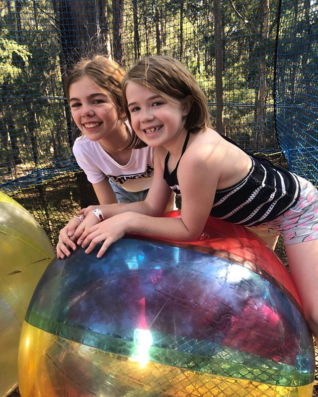 This place is amazing! Trampolines in the trees at treetops central coast. Dodgeball, giant balls and ball pits too much fun! #treetopscentralcoast #treetops #centralcoast #kids #family #weekends #familyadventure #cousins