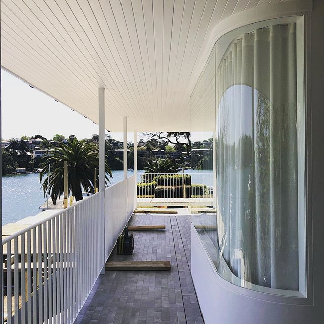 Our hunters hill project taking shape...almost in! #curves #design #interiordesign #interiors #interiordesigner #decoration #vjoin #water #sydney #ilovemyjob #annkingdesign