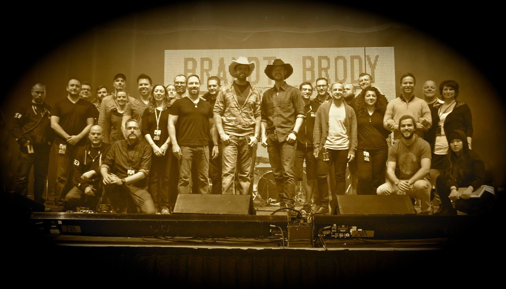 """Paul Brand & Dean Brody """"Road Trip"""" Crew"""