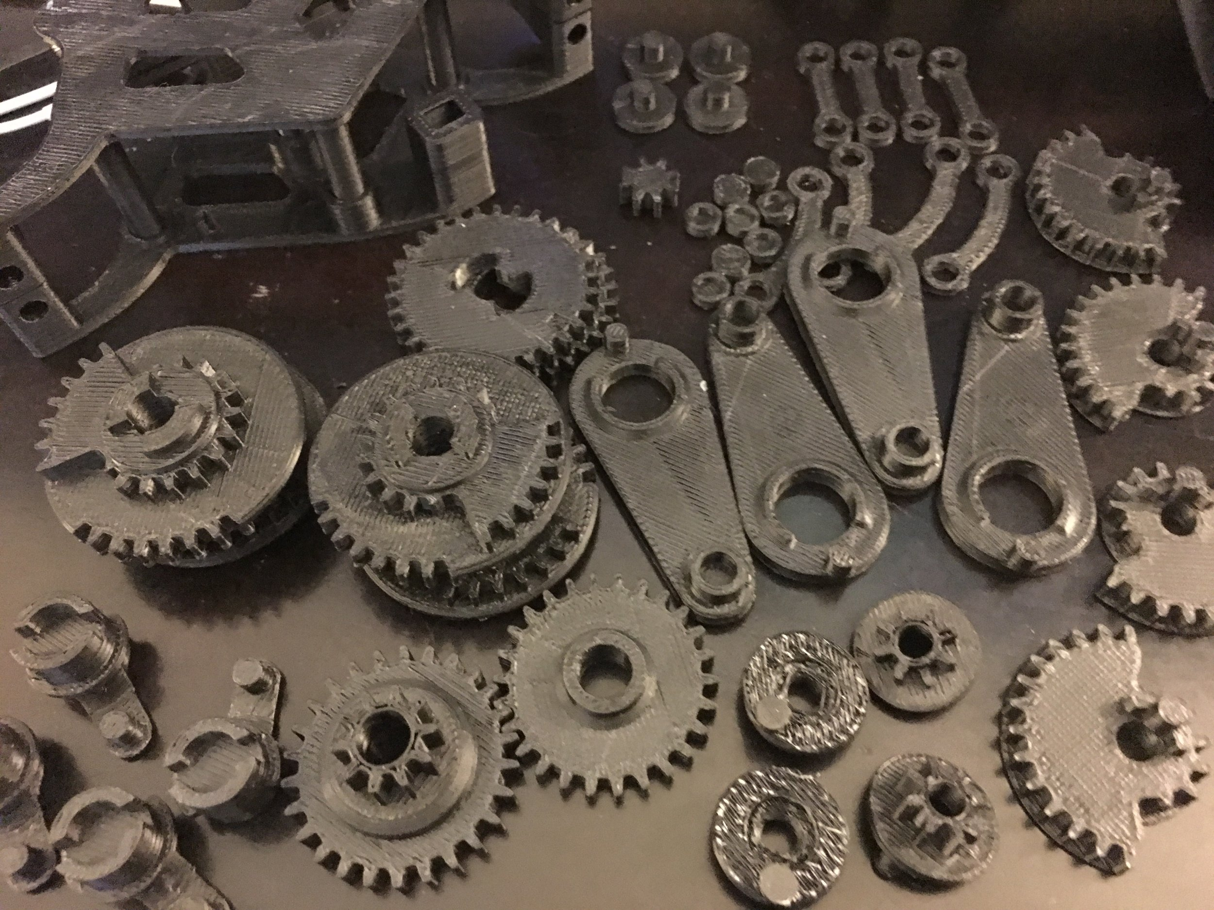 3D Printed Clockwork Mechanism