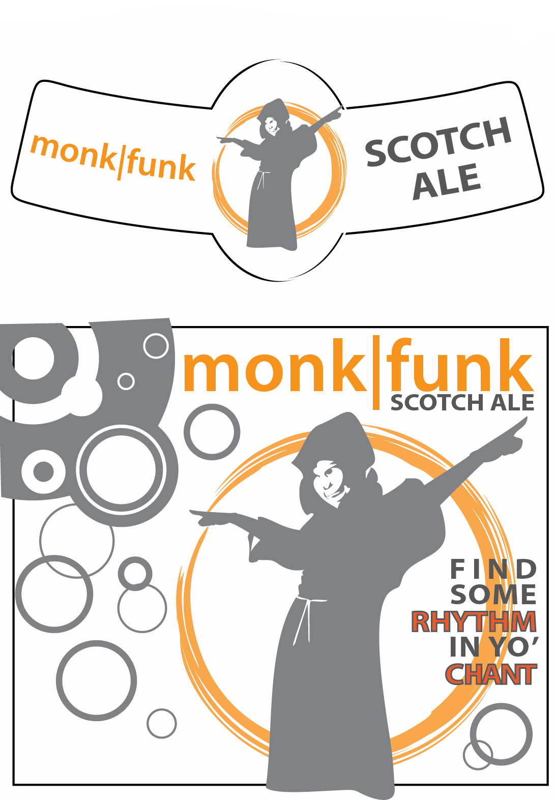 Monk|Funk Beer Label
