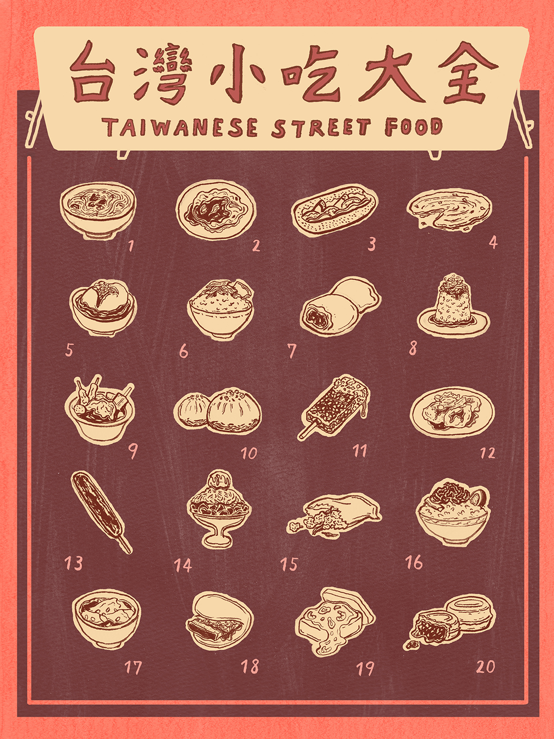 Encyclopedia of Taiwanese Street Food