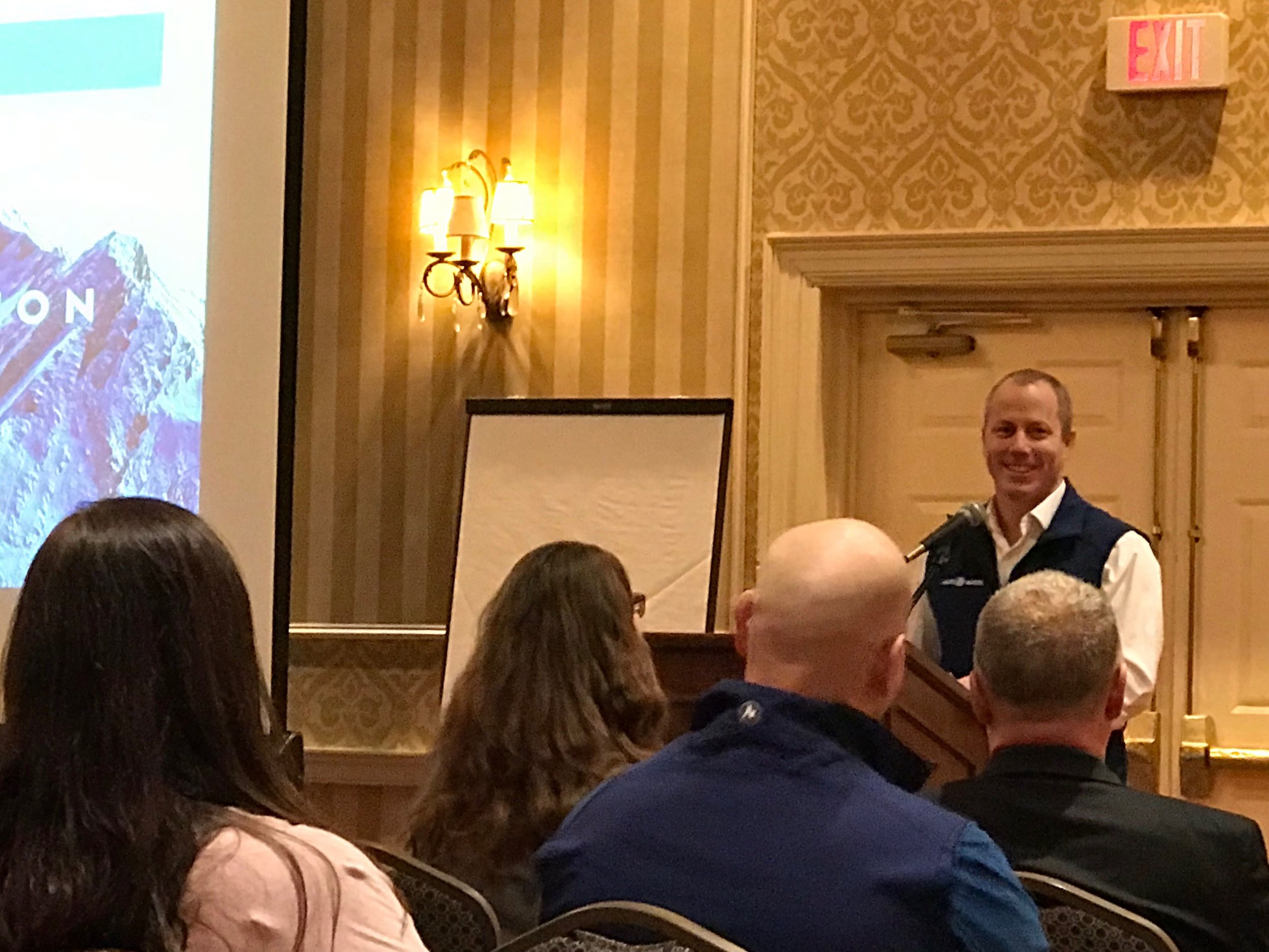 As a gold sponsor, Jason Lamb provided introductory remarks focused on the importance of aligning strategy, culture, and organizational design in order to allow best practices to take root in any organization.