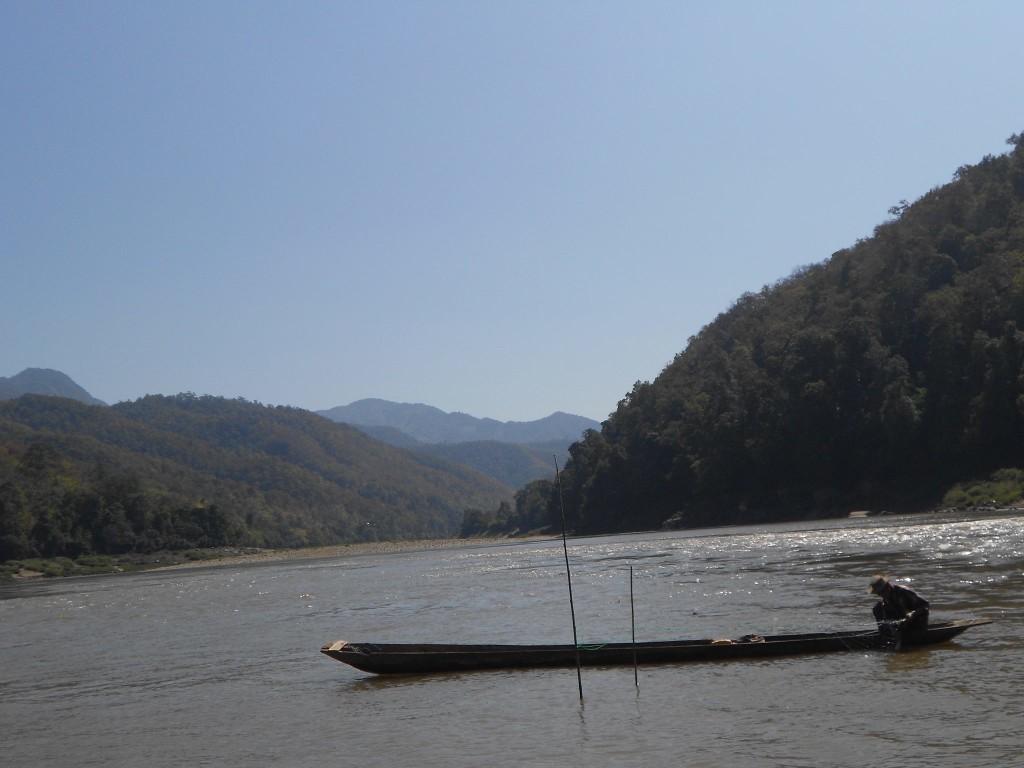 Fishing along the Salween River.