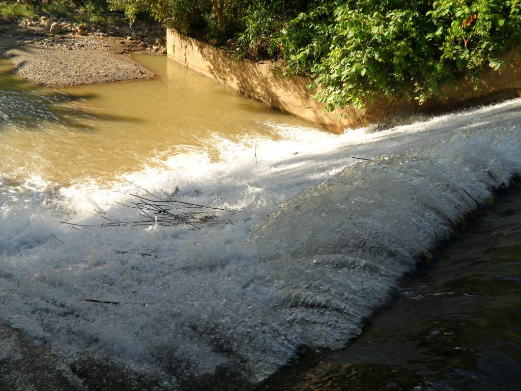 The small-scale Tar Sang Dam built on Wan Hsala Stream