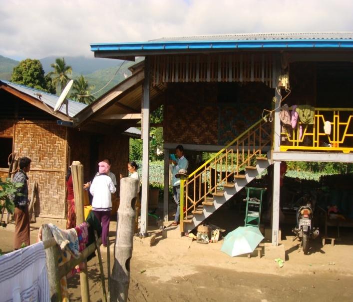 Villagers in Yaelei Kun village.