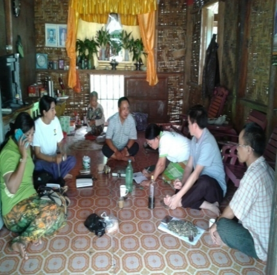 Interviews with local practitioners and villagers at Yaelei Kun.