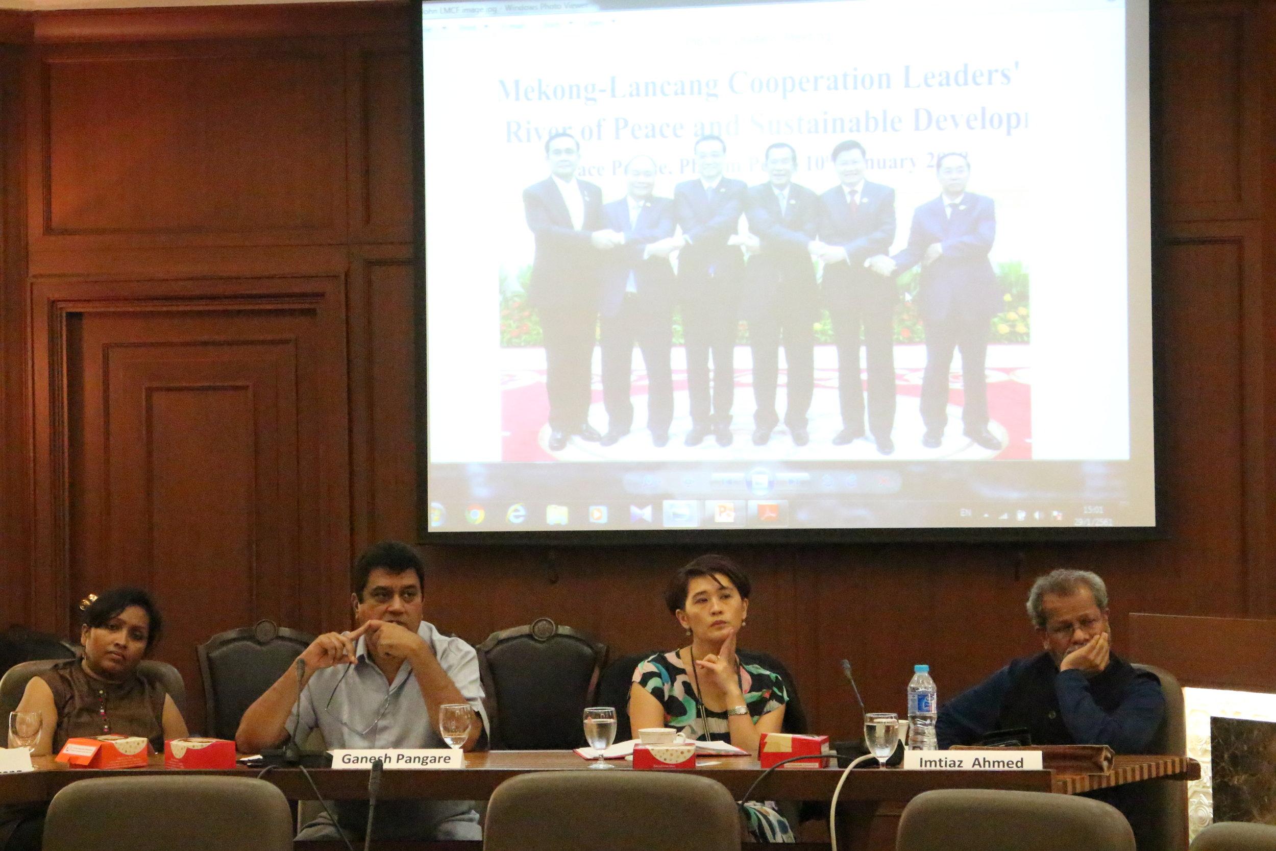 Panelists (Credit: D. Marksiri)