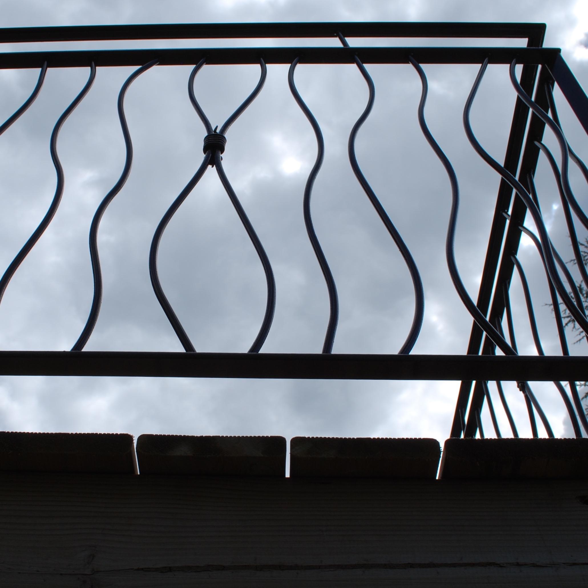 Contemporary Terrace Railings
