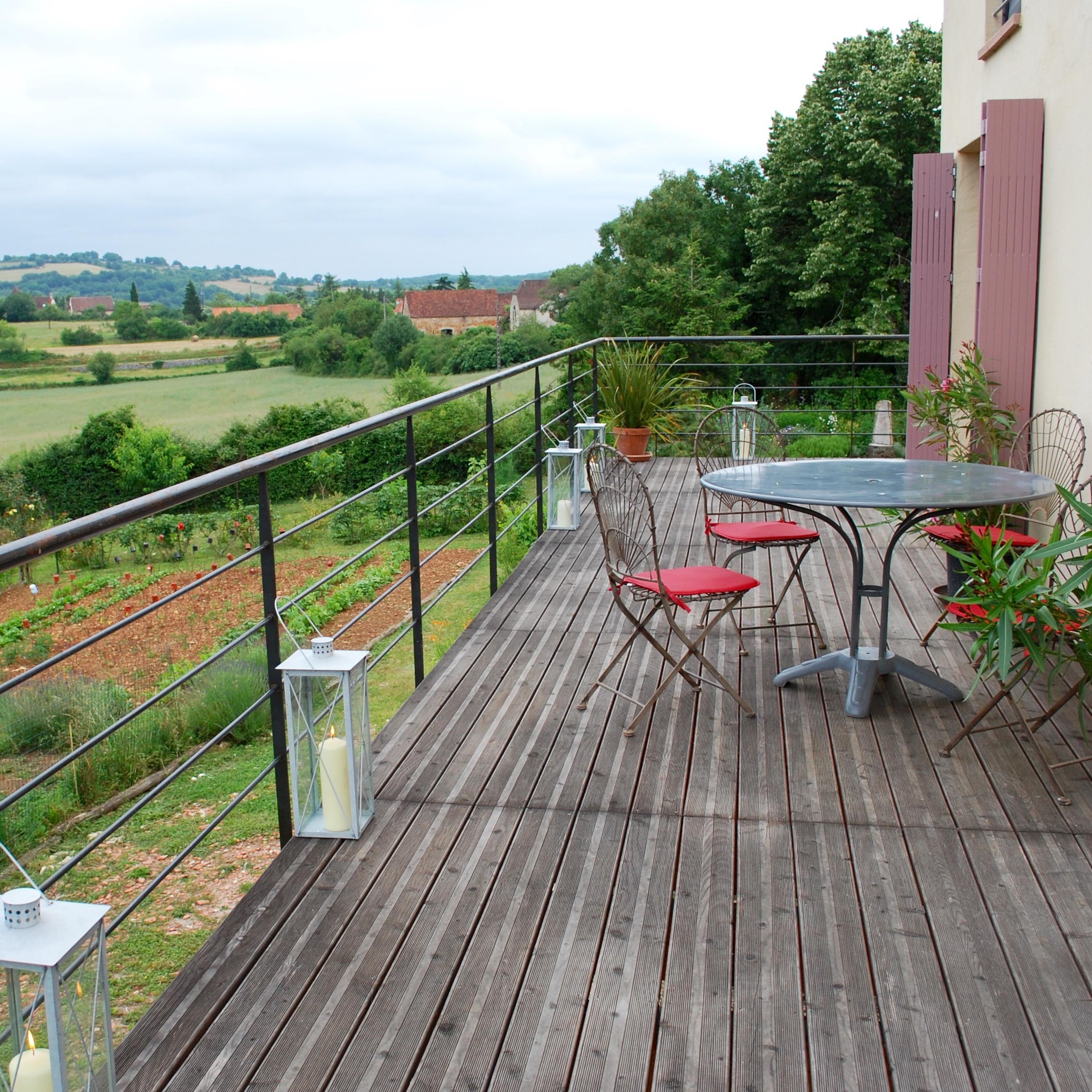 Simple Deck railings