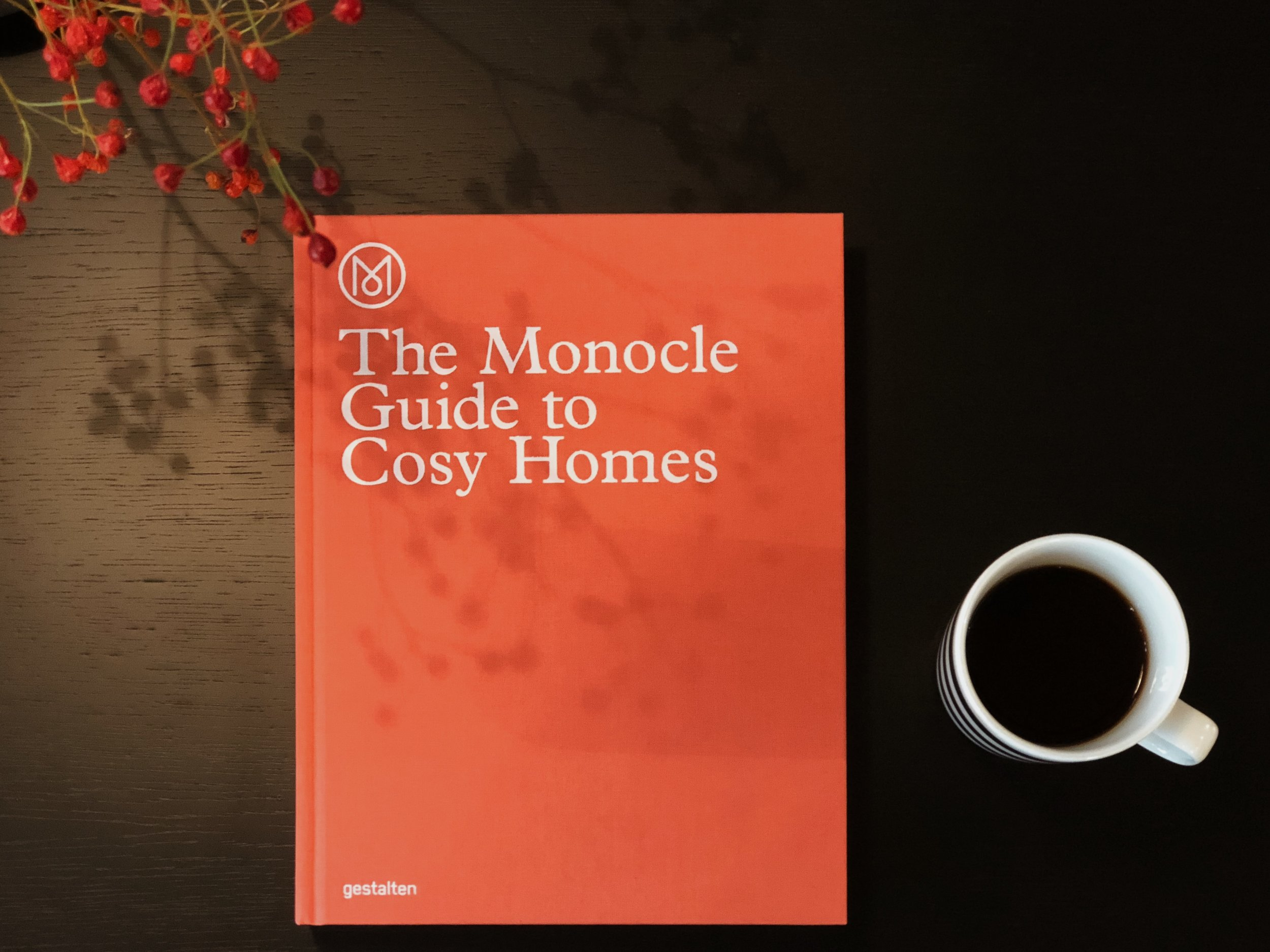 The  Monocle Guide to Cosy Homes  tells us how to turn a house into a home. Both a practical guide and a great source of inspiration.