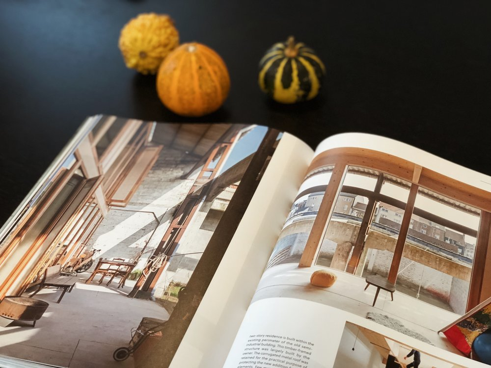 Another title,  Upgrade  explores architectural and design concepts that seek to enhance and repurpose our surroundings. From slight changes to complete renovations, sheds into playrooms, a garage to a guesthouse, or an alpine hut into a holiday getaway.