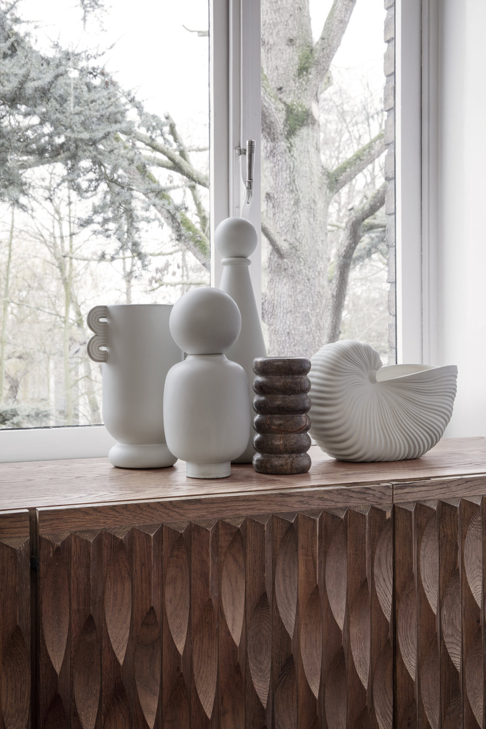 Muses Vases and Bendum Vase from Ferm Living
