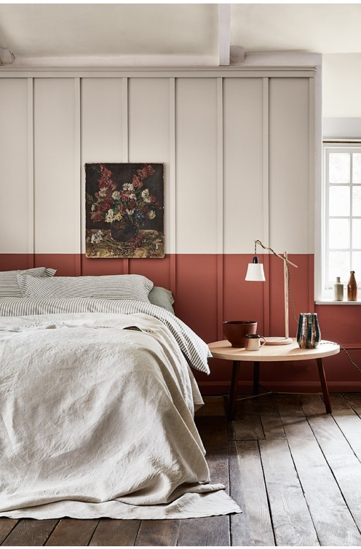Tuscan Red from Little Greene Paints. Available from Jenny Bond Interiors.
