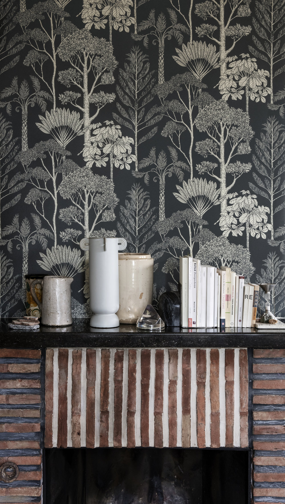 Katie Scott Wallpaper, Trees, Ferm Living