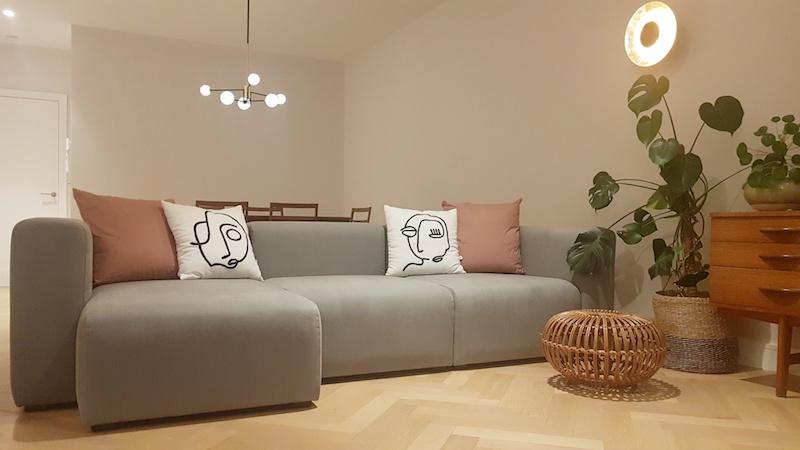Hay Mags Modular Sofa in Linara   Cathy's home, Dublin