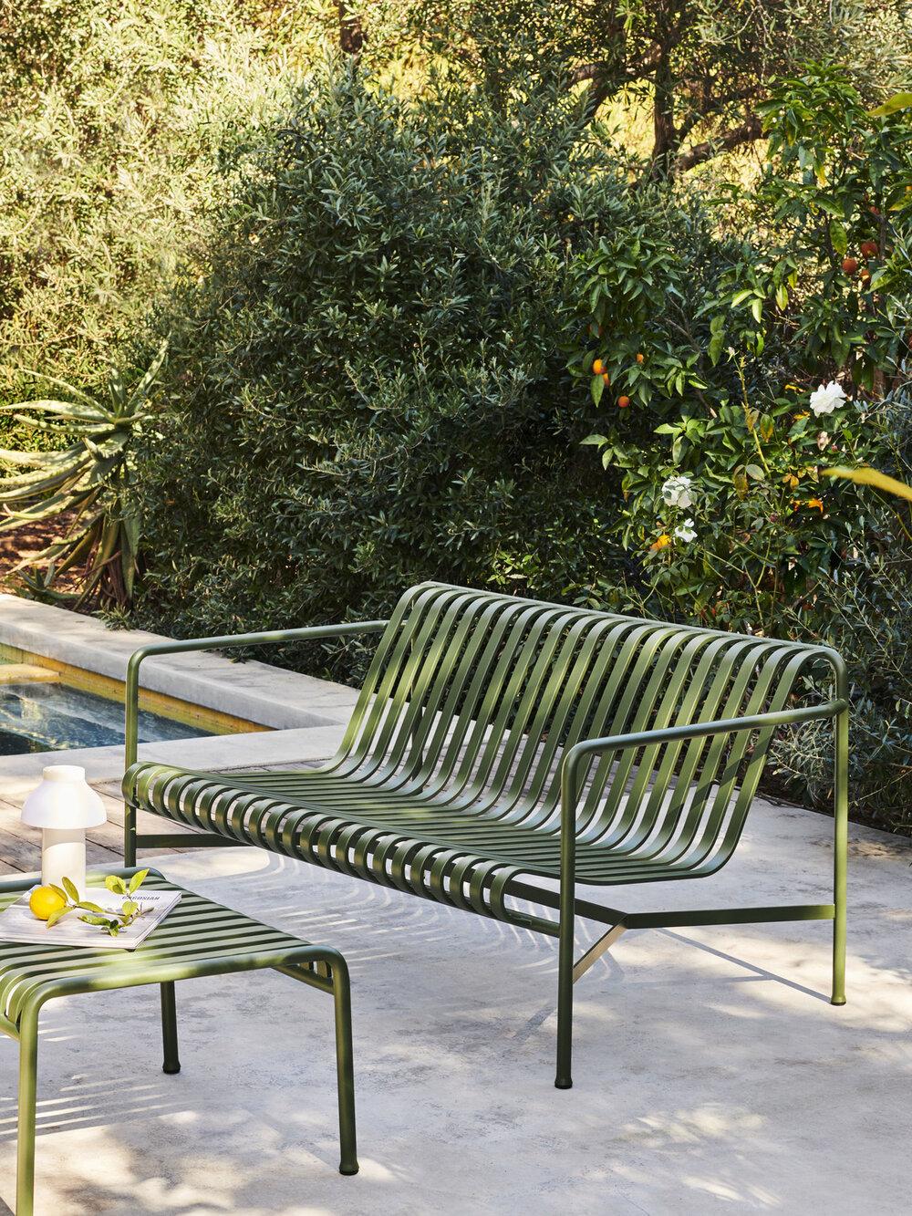 Palissade Lounge Sofa £685 & Ottoman £249