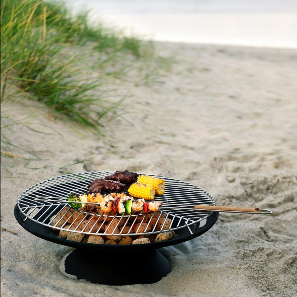 OUTDOOR  SKAGERAK - HELIOS FIRE PIT & GRILL NOW £338.30