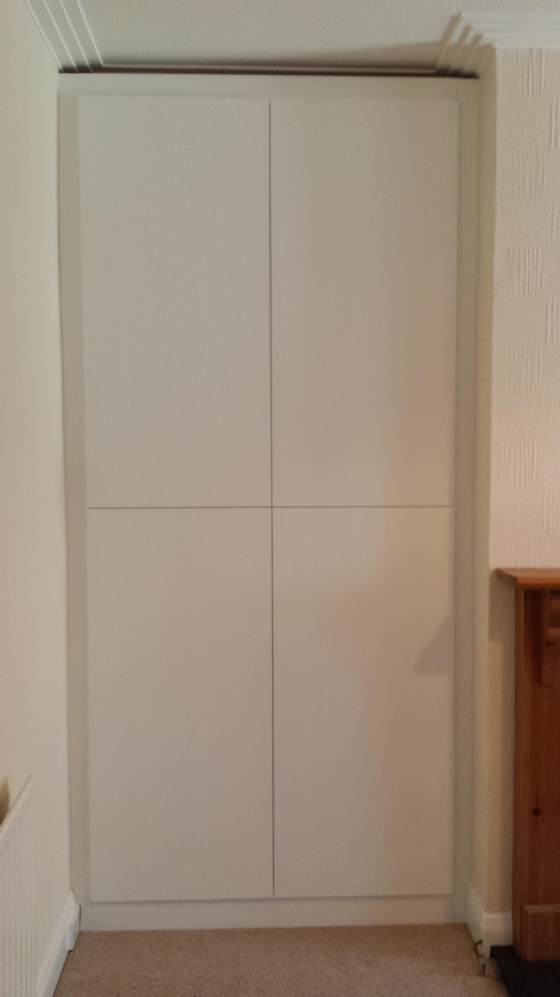 4 door flush cabinet