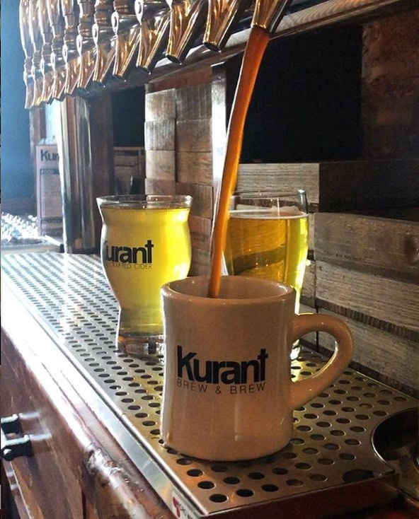 April Hit List: Next up - @kurantbrewandbrew submitted by @brendencoleman33 📷: @kurantbrewandbrew⠀⠀ -----⠀⠀ . ⠀⠀ @nativxphilly connects you to the best places to eat and drink around Philly, curated by the local experts that live there!⠀⠀ . ⠀⠀ . ⠀⠀ #nativx #inbetweenrivers #kurantcider #phillyciders #battleofthebrews #ciders #phillylocal #breweriesinpa #phillylovebeer #phillylovesbeer #topbrewery #topcidery #phillycider #hotdogs #coffee #phillycoffee