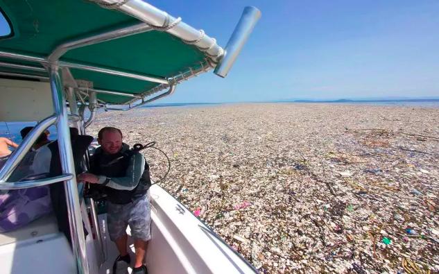 The plastic ocean