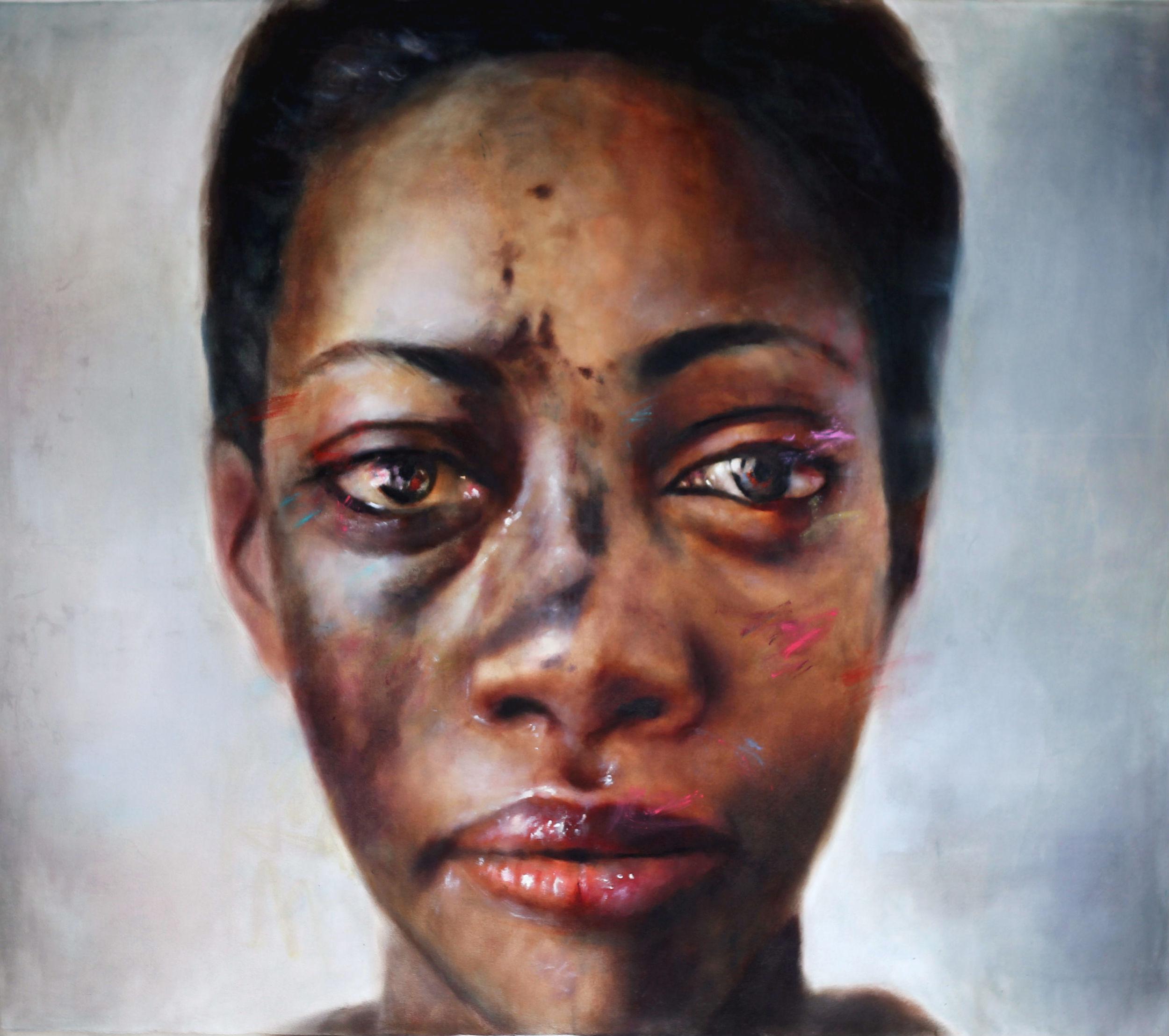 Joanna, oil on canvas Stolen Faces seres SOLD