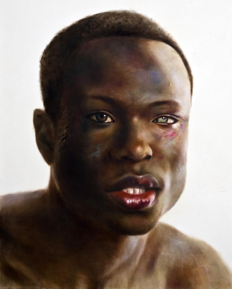 Randie, oil on canvas, Stolen Faces series  SOLD