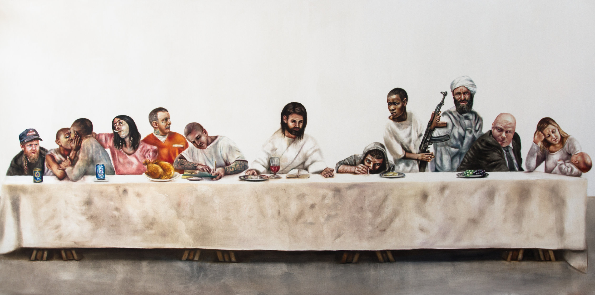 The Supper, available as giclee print from $144