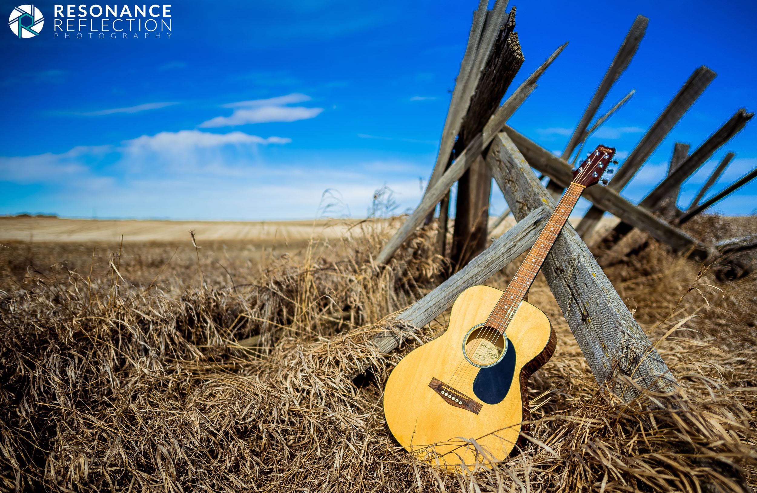 Acoustic Guitar In The Prairies