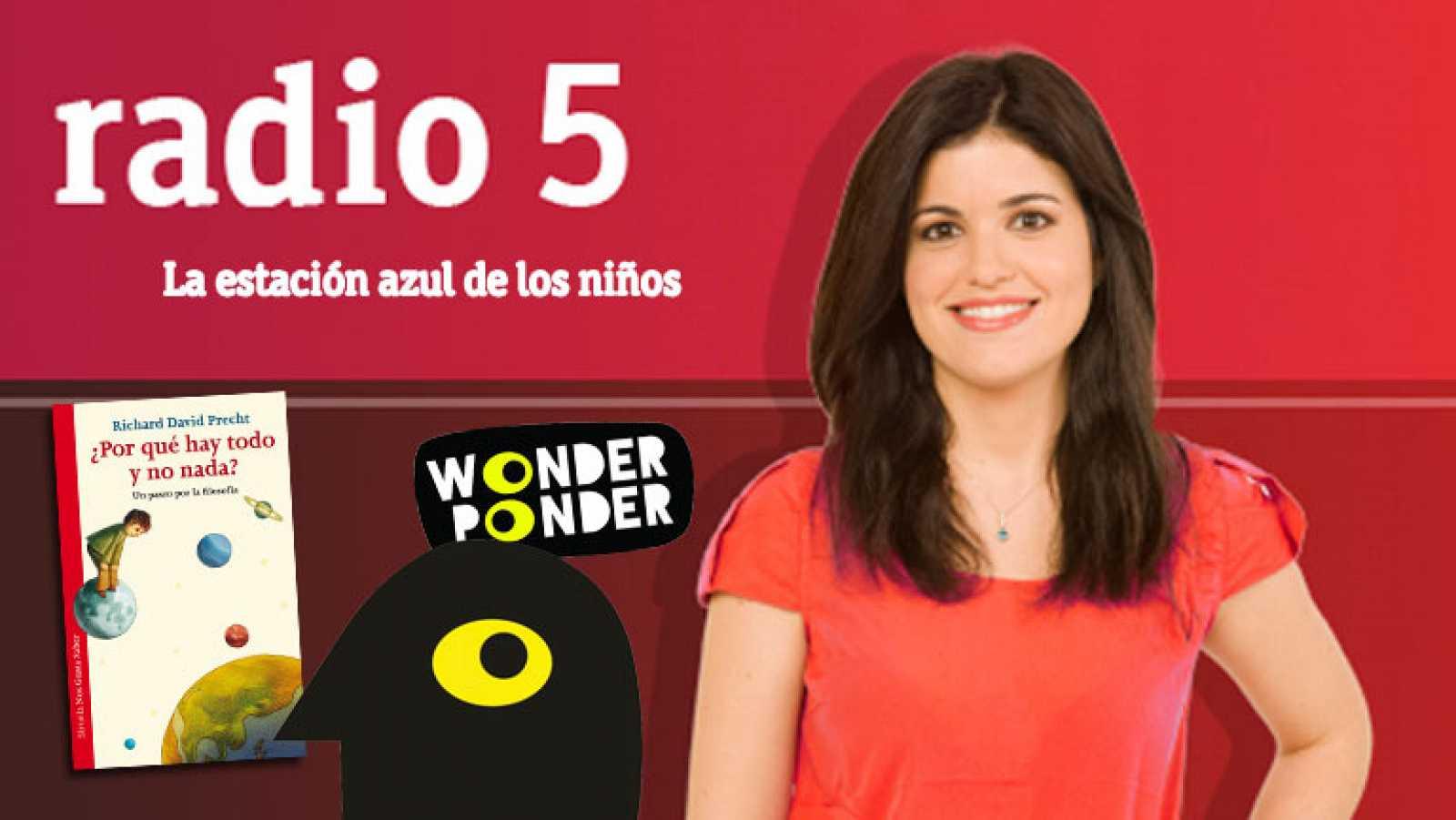 Jugar a la filosofía, con Wonder Ponder - Entrevista-juego, por Cristina Hermoso de Mendoza en RNE